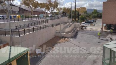 Photo of #Aspe: Inauguran el nuevo acceso peatonal al Pabellón Deportivo