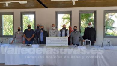 Photo of #Aspe: Entregan el cheque de la Paella Solidaria del restaurante Alfonso Mira