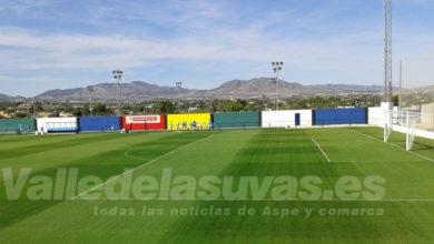 Photo of #Aspe: La UD Aspense estrena el nuevo césped del Campo de Las Fuentes