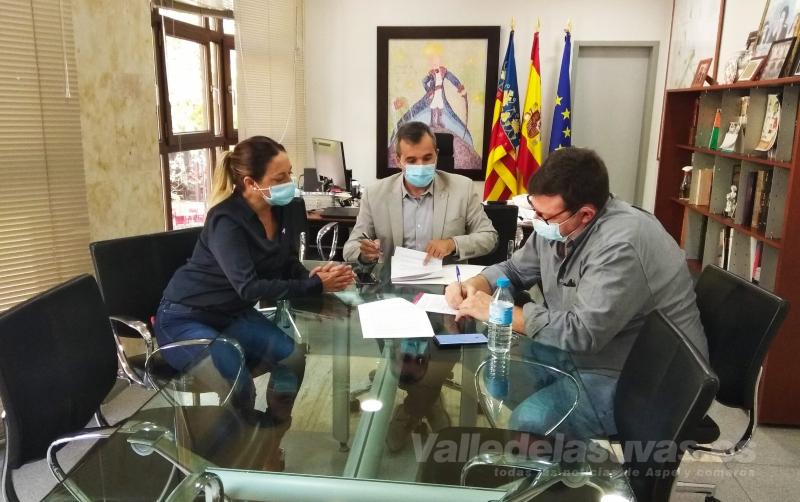 Toñi garcía Morote, Antonio Puerto y Juanfran Asencio