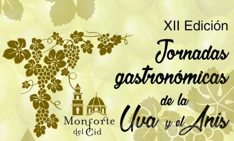 Photo of #Monforte celebra las XII Jornadas Gastronómicas de la Uva y el Anís