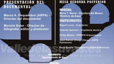Photo of #Aspe: Presentan el documental del Puente de los Cinco Ojos