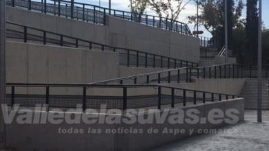 Photo of #Aspe: Finaliza la construcción de la rampa del Pabellón