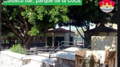 Photo of #Aspe: Abren el plazo para adjudicar el Quiosco-bar del Parque de La Coca