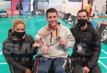 Photo of #Aspe: Jordi Carrión e Ignacio Fernández, plata en el Campeonato de España de Parabádminton
