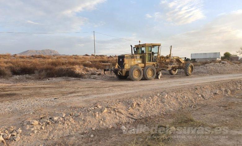 Photo of #Monforte: La Concejalía de Agricultura asfalta los caminos del Azud y el Porvenir