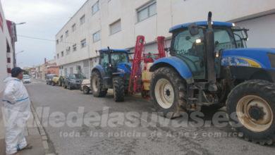 tractor regantes