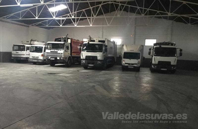 camiones recogida basura Aspe